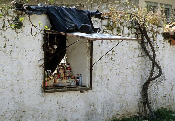 Berat Gorica: Verkaufsstand