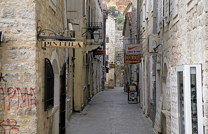 Budva Altstadt