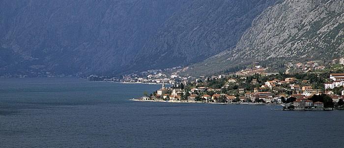 Lovcen-Gebirge Bucht von Kotor, Kotor