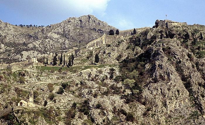 Kotor Festung Sveti Ivan