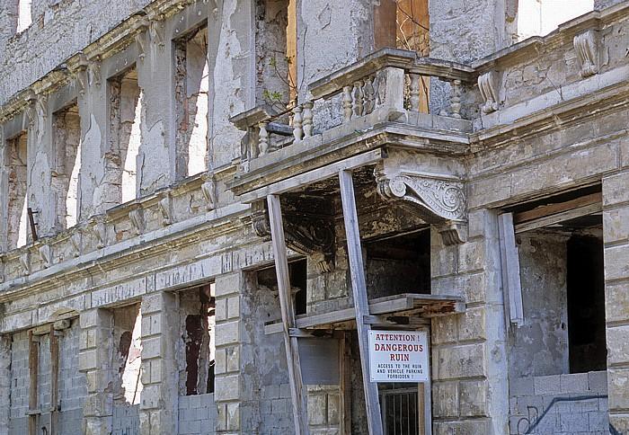 Mostar Kriegsbeschädigtes Haus