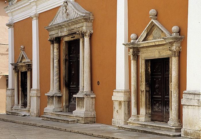 Zadar Altstadt: Kirche St. Simeon (Sveti Simun)
