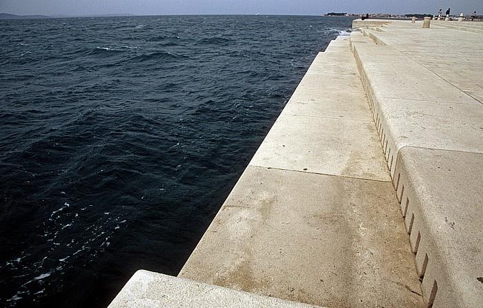 Zadar Wasserorgel an der Adria