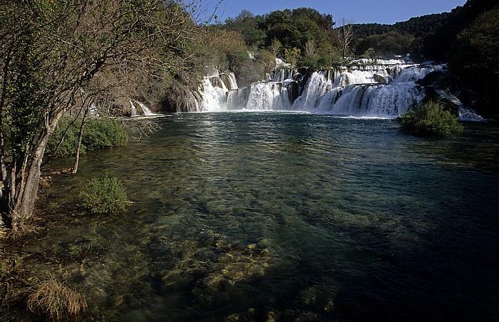 Nationalpark Krka Skradin-Wasserfälle (Skradinski buk)