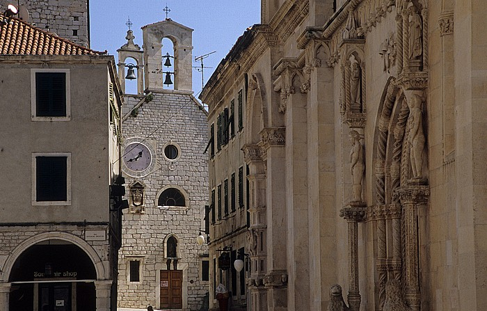 Šibenik Altstadt: Barbarakirche (Sveti Barbara) Kathedrale des Heiligen Jakob