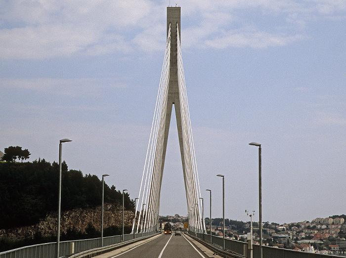 Franjo-Tudjman-Brücke (Dubrovnik-Brücke) Dubrovnik