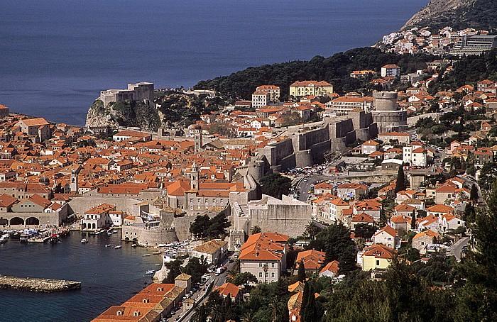Altstadt und Stadtmauer Dubrovnik