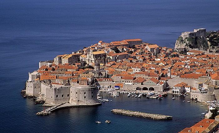 Adria, Altstadt und Stadtmauer, Alter Hafen Dubrovnik