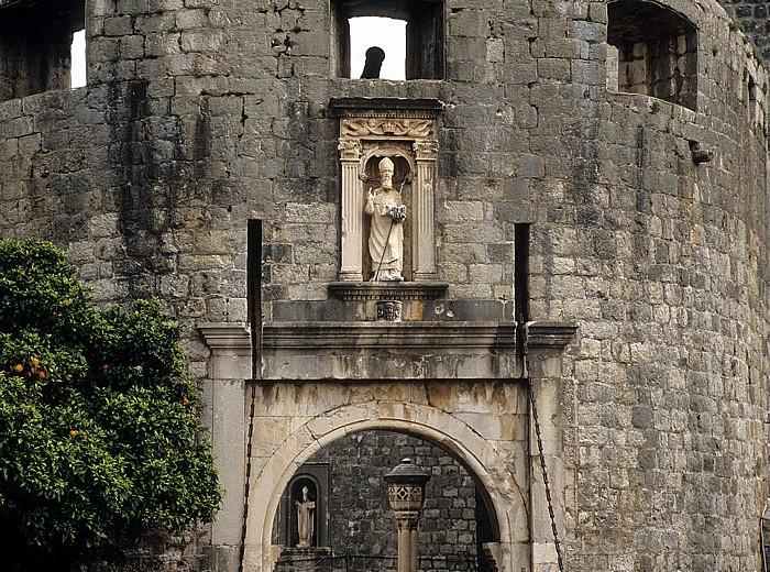 Dubrovnik Altstadt: Pile-Tor