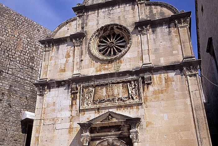 Altstadt (Grad): Erlöserkapelle (Crkva sv. Spasa) Dubrovnik