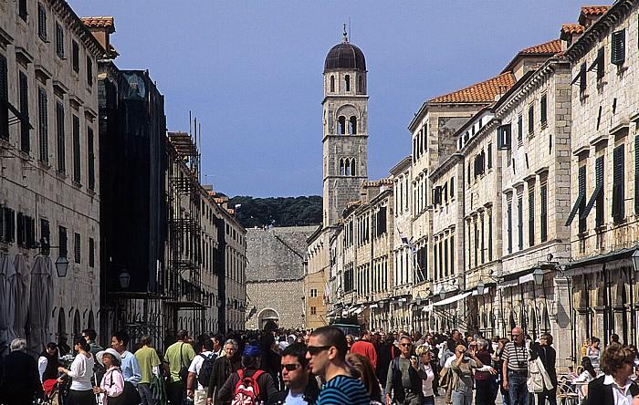 Altstadt: Placa (Stradun) Dubrovnik
