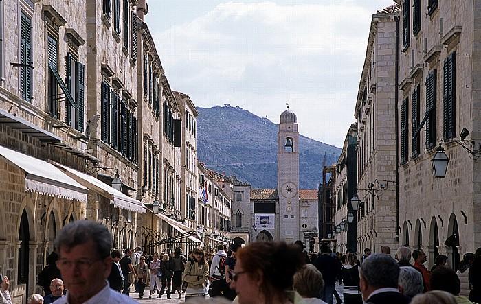 Altstadt (Grad): Placa (Stradun) Dubrovnik