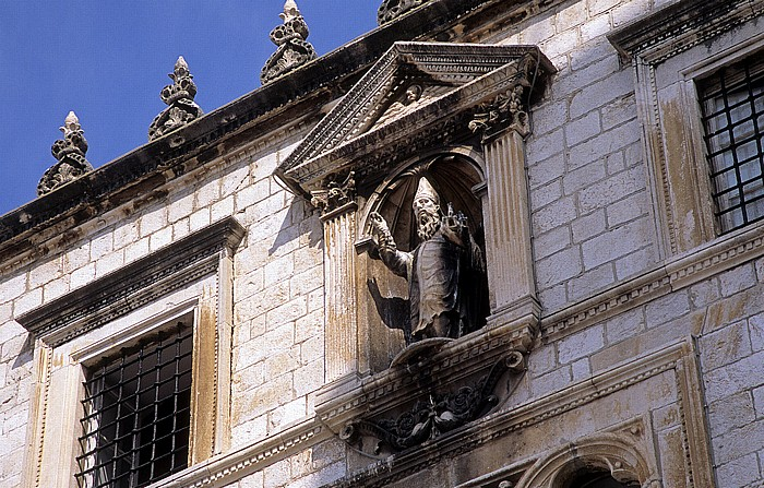 Altstadt (Grad): Sponza-Palast (Palača Sponza) Dubrovnik