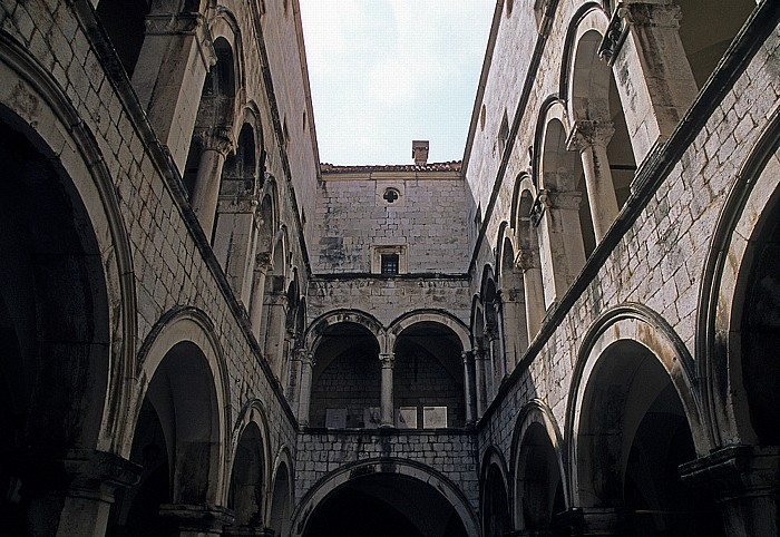 Sponza-Palast (Palača Sponza) Dubrovnik