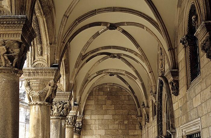 Altstadt (Grad): Rektorenpalast (Knežev Dvor) Dubrovnik