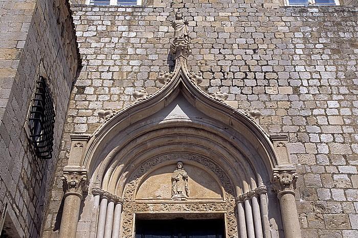 Altstadt (Grad): Dominikanerkloster (Dominikanski samostan) Dubrovnik