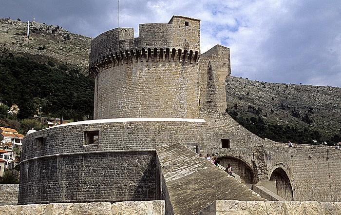 Altstadt: Stadtmauer, Festung Minceta Dubrovnik