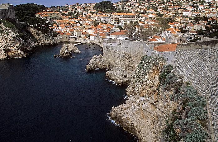 Dubrovnik Altstadt: Stadtmauer Festung Lovrijenac