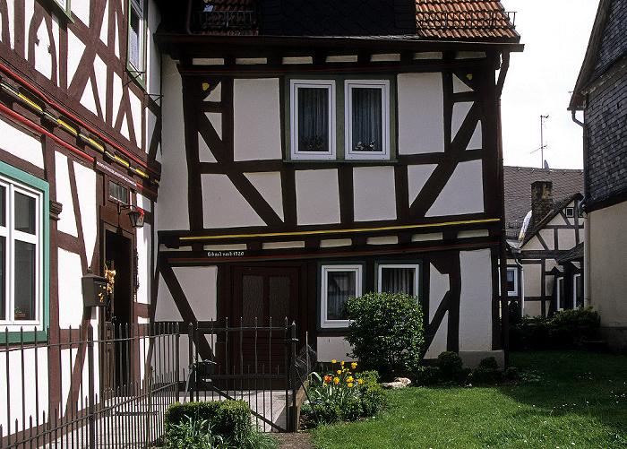Braunfels Altstadt: Fachwerkhäuser