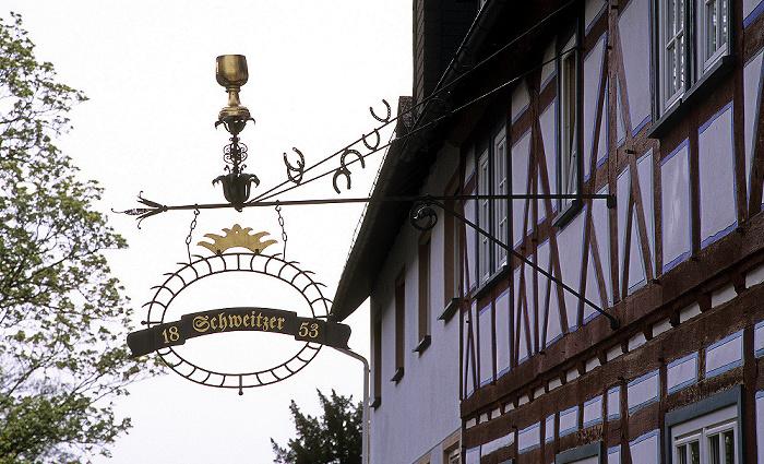 Braunfels Altstadt: Fachwerkhaus