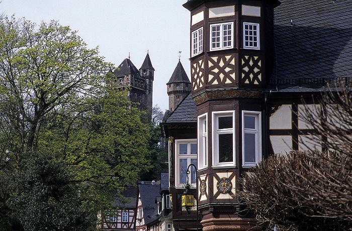 Braunfels Altstadt: Fachwerkhäuser Schloss Braunfels