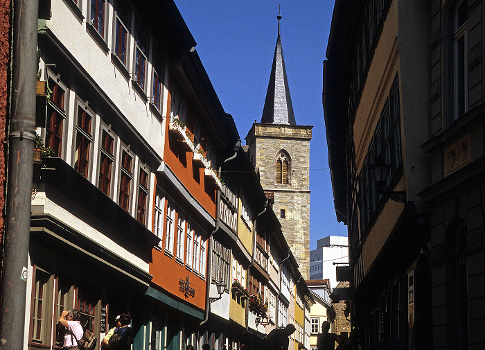 Erfurt Krämerbrücke, Ägidienkirche