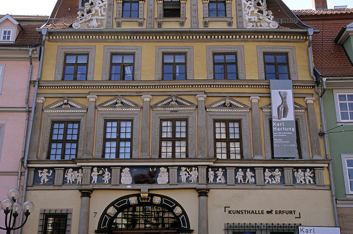 Erfurt Haus zum Roten Ochsen (Kunsthalle)