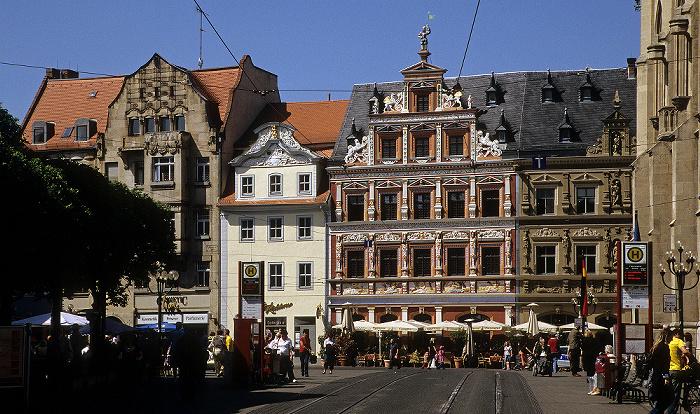 Erfurt Fischmarkt, Haus zum Breiten Herd Rathaus