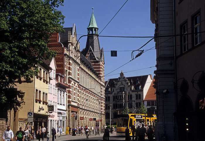 Erfurt Anger, Hauptpostamt