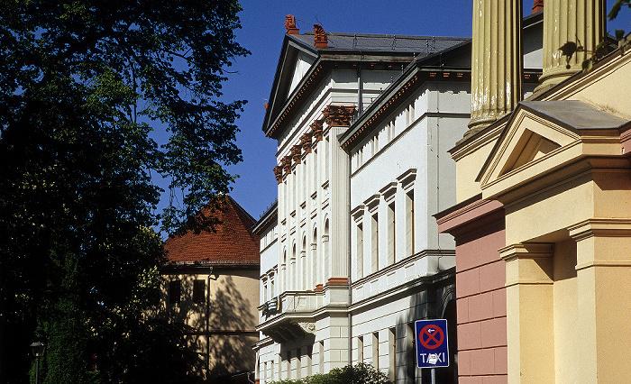 Weimar Goetheplatz Kasseturm