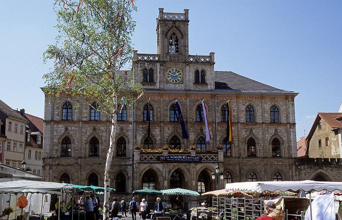 Weimar Marktplatz, Rathaus