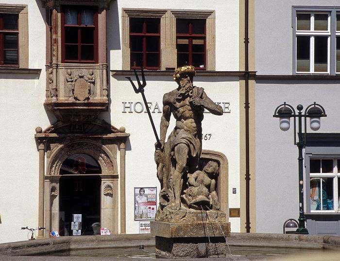 Weimar Marktplatz: Neptunbrunnen