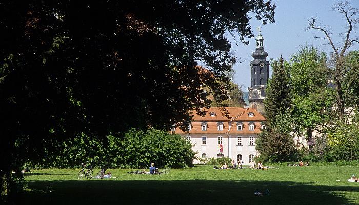 Weimar Park an der Ilm Residenzschloss