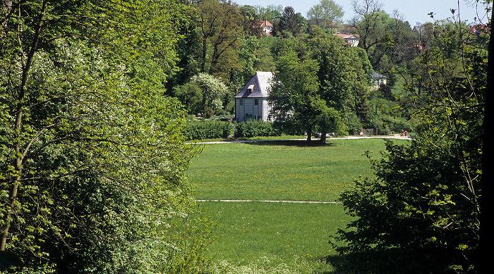 Weimar Park an der Ilm: Goethes Gartenhaus