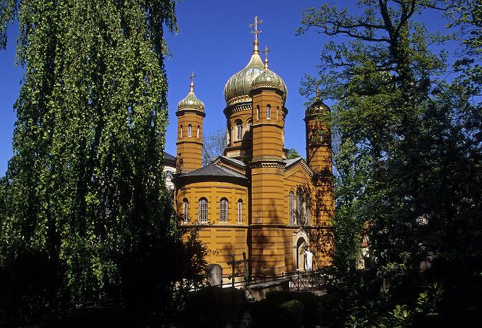 Weimar Historischer Friedhof: Russisch-Orthodoxe Kapelle