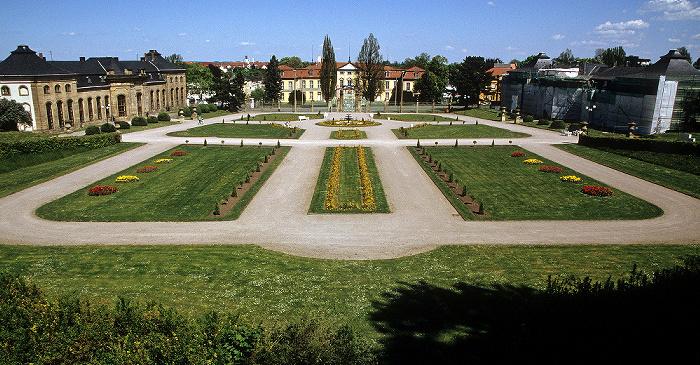 Gotha Orangerie Orangenhaus Schloss Friedrichsthal