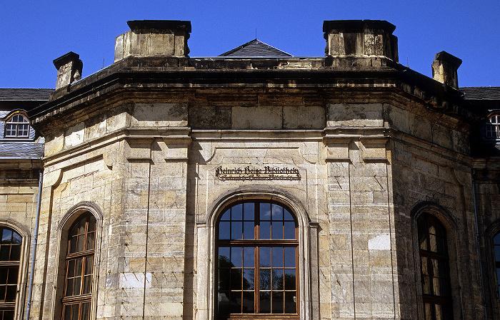 Gotha Orangerie: Orangenhaus (Stadtbibliothek Heinrich Heine)