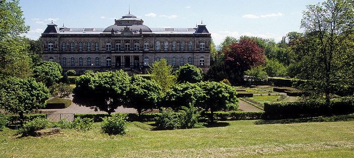 Gotha Rosengarten (mit Mahnmal für die Opfer des Faschismus), Museum der Natur