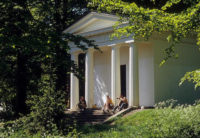 Gotha Englischer Garten: Merkurtempel