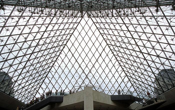 Paris Musée du Louvre: Glaspyramide