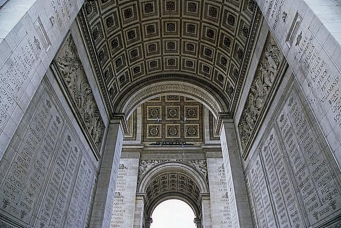Arc de Triomphe Paris 2008