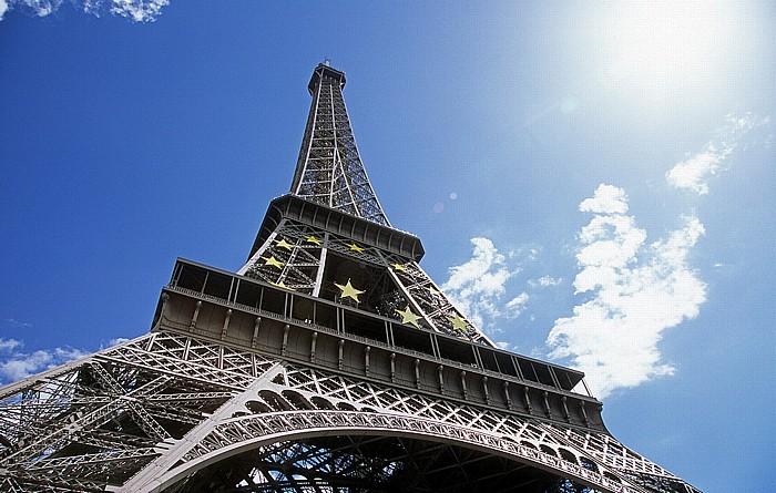 Tour Eiffel (Eiffelturm) Paris 2008