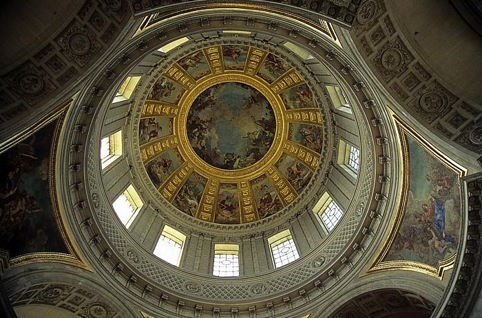 Dôme des Invalides (Invalidendom): Kuppel Paris 2008