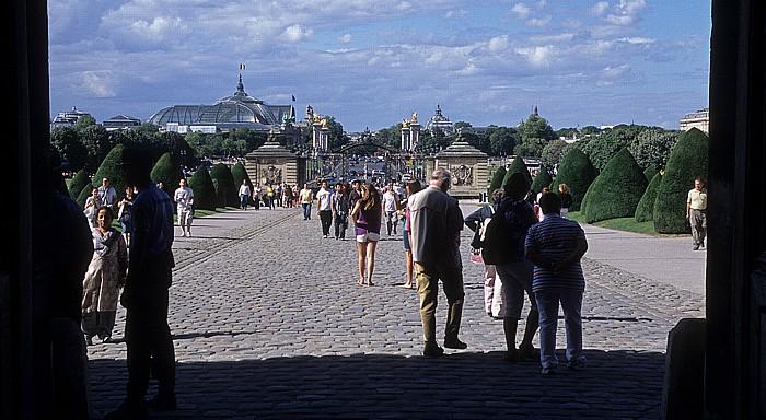 Paris Esplanade des Invalides Grand Palais