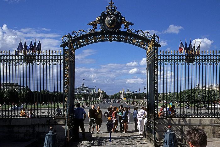Paris Esplanade des Invalides Grand Palais Petit Palais Pont Alexandre III