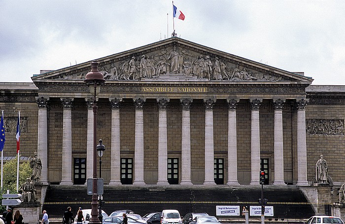 Paris Palais Bourbon (Nationalversammlung)
