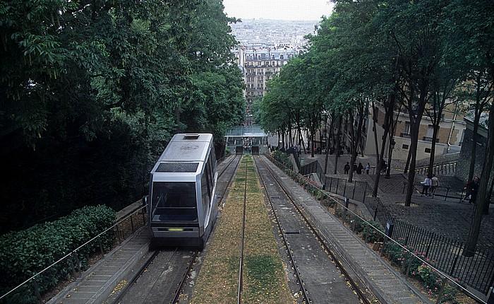 Paris Montmartre: Funiculaire de Montmartre