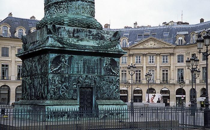 Paris Place Vendôme: Säule Zum Ruhme der Armee