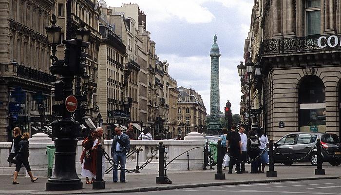 Paris Rue de la Paix Place Vendôme