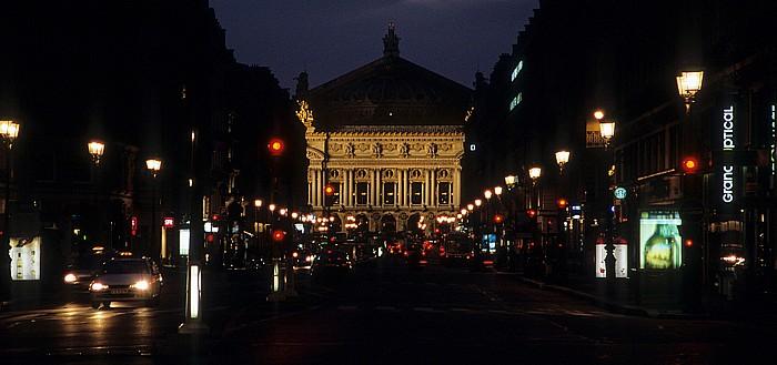 Paris Avenue de l'Opéra, Opéra Garnier